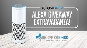 Win a White Amazon Echo ($180 Value)