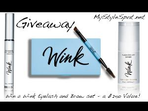 Win a Wink Eyelash & Eyebrow Set (a $240 Value)