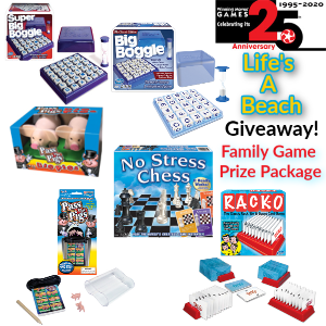 Win a Winning Moves Games Prize Package!