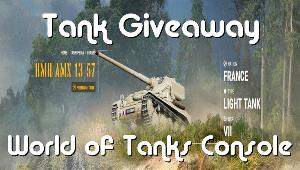 Win a World of Tanks Console Tanks code for Xbox or PS4 console!!