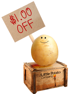 WIN: a Year Of FREE Little Potatoes