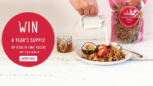 WIN A YEAR'S SUPPLY OF ADELIA FINE FOODS