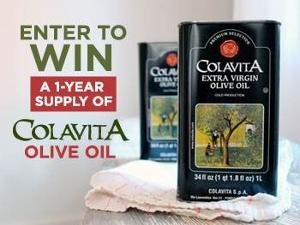 Win a Year's Supply of Colavita Olive Oil