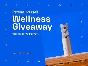 Win a  YEAR subscription to Retreat Yourself Boxes, a $500 Visa Gift Card, a 6 Month Virtual Lean Bean Membership, Audiofly AFT2 True Wireless Earphones + loads of goodies to help you start your 2021 right!