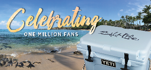 Win a Yeti Roadie Cooler filled with Salt Life gear