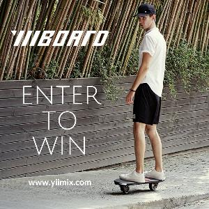 Win a Yiiboard - 2 Wheel Electric Skateboard