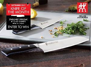 win a ZWILLING Diplôme Chef's Knife 8″