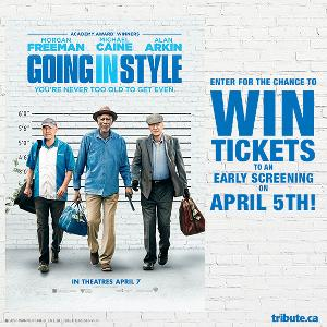 WIN ADVANCE SCREENING PASSES TO SEE *GOING IN STYLE