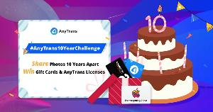 Win Amazon/Apple Gift Cards or AnyTrans Licenses