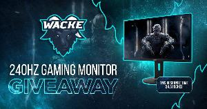 Win an Acer 240Hz Gaming Monitor!