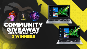 Win an Acer Aspire 5 Slim Laptop- 2 WINNERS!!