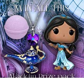 Win an Aladdin Prize Pack