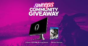 Win an Alienware 25 240Hz Gaming Monitor and Ghost of Tsushima!!