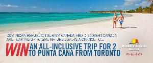 Win an All-Inclusive Trip for Two to Punta Cana