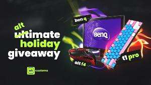 Win an Alt F4 Gaming Mouse + BenQ Montior + T1 Pro!