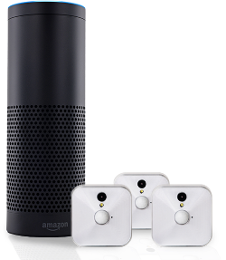 Win an Amazon Echo and Blink 3-Camera System