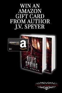 Win an Amazon Giftcard from Author J.V. Speyer!