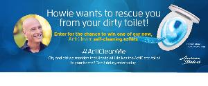WIN: an American Standard ArtiClean Self-Cleaning Toilet