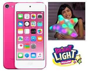 Win an Apple iPod Touch and a Bright Light Pillow !!!