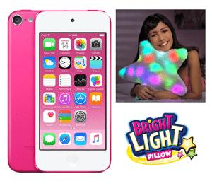 Win an Apple iPod Touch and a Bright Light Pillow !