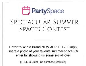 Win an Apple TV (Judged) or $150 Amazon Gift Card