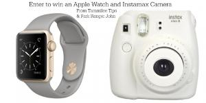 Win an Apple Watch and Instax camera