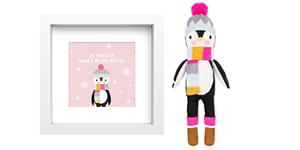 win an Aspen the Penguin Doll