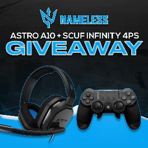 Win an Astro A10 Headset & Scuf Infinity PS4 Controller!