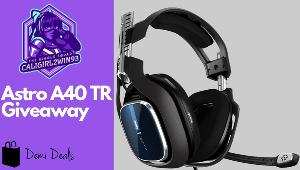 Win an Astro A40TR Headset!
