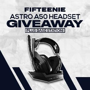Win an ASTRO A50 Wireless Headset + Base Station!