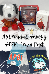 Win an Astronaut Snoopy STEM Prize Pack!!