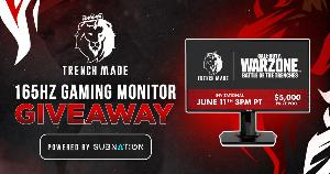Win an ASUS 165Hz Gaming Monitor &  Marquez Valdes-Scantling Signed Poster!