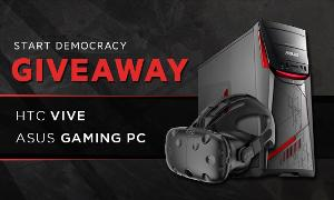 Win an ASUS Desktop and HTC Vive