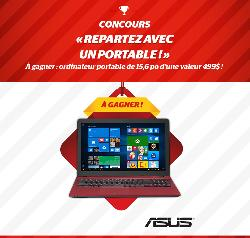 Win an Asus Laptop