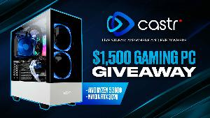 Win an awesome  $1,500 Gaming PC!!