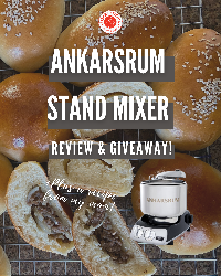 Win an awesome Ankarsrum Assistent Original Stand Mixer!!