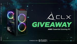Win an awesome CLX Set AMD Essential Gaming PC!!