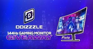 Win an awesome Pixio 144Hz Gaming Monitor!!