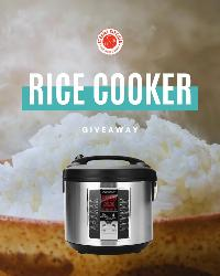 Win an awesome Rice Cooker!