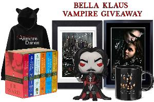 Win an awesome Vampire related prize pack!