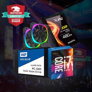 Win an CPU, SSD, HDD, Fans and More in the iBUYPOWER GameFest Partner Giveaway
