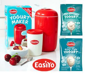 Win an EasiYo Yogurt Maker!