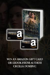 Win an eBook or Amazon Giftcard from Author, Cecilia Dominic!