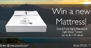 Win an Eight Sleep Smart Mattress