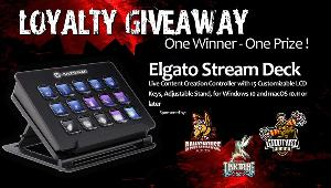 Win an  Elgato 15 Key Stream Deck !