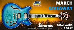 WIN AN IBANEZ GUITAR & CASE!