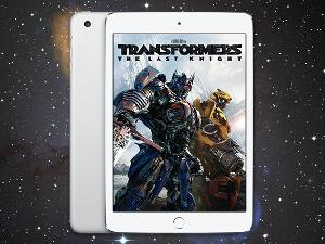"Win an iPad Mini plus ""Transformers: The Last Knight"""