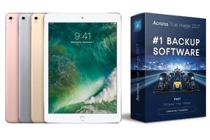 Win an iPad Pro and Acronis True Image 2017