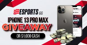 Win an iPhone 13 Pro Max or $1,000!