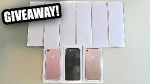 Win an iPhone 7 or iPad Mini 4 - 6 Winners
